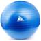 Фото 2 Фитбол (мяч для фитнеса) METEOR (31133) 65 см, с насосом, синий