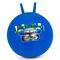 Мяч-прыгун детский с рожками Spokey Speedster (922741), 60 см, детский фитбол, синий с машинкой
