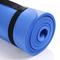 Фото 6 Коврик для фитнеса Meteor NBR 183x61x1 см, синий