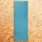 Фото 4 Коврик для йоги Spokey Savasana 926522, пробковый, бирюзовый