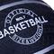 Фото 4 Баскетбольный мяч Spokey MAGIC синий размер №7, темно-синий с серебряными полосками