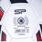Фото 7 Футбольный мяч Spokey Agilit, размер №5, белый с черно-бордовым рисунком