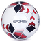 Футбольный мяч Spokey Agilit, размер №5, белый с черно-бордовым рисунком