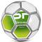 Футбольный мяч Spokey Mercury, размер №5, белый с салатовым
