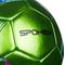 Фото 4 Футбольный мяч Spokey PRODIGY, размер №5, зеленый с рисунком