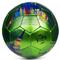 Фото 2 Футбольный мяч Spokey PRODIGY, размер №5, зеленый с рисунком