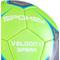 Фото 4 Футбольный мяч Spokey Velocity Spear, размер №5, салатовый с рисунком