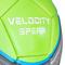 Фото 3 Футбольный мяч Spokey Velocity Spear, размер №5, салатовый с рисунком