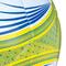 Фото 6 Мяч футбольный Spokey Velocity SHINOUT размер №5, белый с салатовым