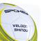 Фото 4 Мяч футбольный Spokey Velocity SHINOUT размер №5, белый с салатовым