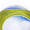 Фото 3 Мяч футбольный Spokey Velocity SHINOUT размер №5, белый с салатовым