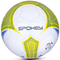 Фото 2 Мяч футбольный Spokey Velocity SHINOUT размер №5, белый с салатовым