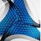Фото 4 Мяч волейбольный Spokey Gravel Pro 927519, белый с синим, размер №5, ручной пошив