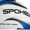 Фото 3 Мяч волейбольный Spokey Gravel Pro 927519, белый с синим, размер №5, ручной пошив