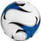 Фото 2 Мяч волейбольный Spokey Gravel Pro 927519, белый с синим, размер №5, ручной пошив