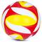 Фото 2 Волейбольный мяч Spokey Misto размер №5, белый с красно-желтым рисунком