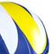 Фото 5 Волейбольный мяч Spokey Misto размер №5, синий рисунок с желтым