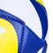 Фото 4 Волейбольный мяч Spokey Misto размер №5, синий рисунок с желтым
