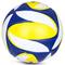 Фото 2 Волейбольный мяч Spokey Misto размер №5, синий рисунок с желтым