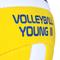 Фото 4 Волейбольный мяч Spokey Young III размер №4, желтый с синим