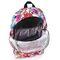 Фото 3 Спортивный рюкзак Meteor Drawings 19л, белый с цветами