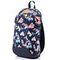 Спортивный рюкзак Meteor Flowers 9л, темно-синий с птицами