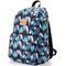 Спортивный рюкзак Meteor Triangles 19л, черный с синим в треугольники