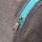 Фото 6 Сумка спортивная, дорожная Meteor Nepr 20L, серая с голубым