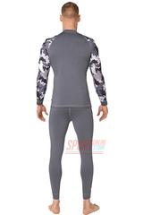 Фото 3 Комплект спортивного мужского термобелья Rough Radical Shooter теплый, серый