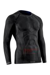 Фото 2 Комплект спортивного мужского термобелья Tervel Comfortline бесшовное, зональное, черный