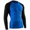 Фото 2 Комплект спортивного мужского термобелья Tervel Comfortline бесшовное, зональное, синий+чёрный