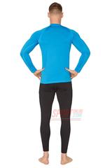 Фото 3 Спортивный комплект термобелья Radical Acres тёплый мужской с балаклавой, голубой с чёрным