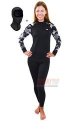Спортивный женский комплект термобелья Radical Shooter теплый, черный