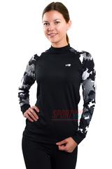 Фото 2 Спортивный женский комплект термобелья Radical Shooter теплый, черный