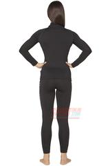 Фото 2 Спортивный женский термокомплект Radical Magnum теплый, черный