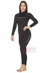 Спортивный женский термокомплект Radical Magnum теплый, черный