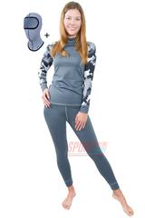 Спортивный женский термокостюм Radical Shooter теплый, серый