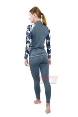 Фото 5 Спортивный женский термокостюм Radical Shooter теплый, серый