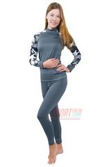 Фото 3 Спортивный женский термокостюм Radical Shooter теплый, серый