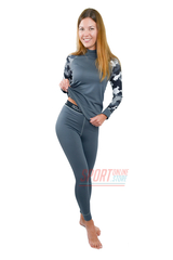 Фото 2 Спортивный женский термокостюм Radical Shooter теплый, серый