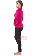 Фото 3 Термокомплект женский спортивный Radical Acres розовый с чёрным с балаклавой