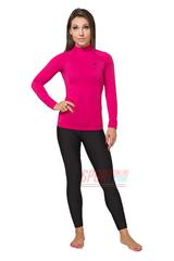 Фото 2 Термокомплект женский спортивный Radical Acres розовый с чёрным с балаклавой
