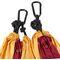 Фото 3 Гамак туристический Spokey Cocoon 140х280 см, нейлон, красный с оранжевым