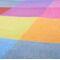 Фото 5 Коврик для пикника и пляжа водонепроницаемый Spokey Colour 130х150 см, разноцветный квадрат