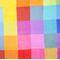 Фото 3 Коврик для пикника и пляжа водонепроницаемый Spokey Colour 130х150 см, разноцветный квадрат