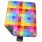 Фото 2 Коврик для пикника и пляжа водонепроницаемый Spokey Colour 130х150 см, разноцветный квадрат