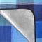 Фото 7 Коврик для пикника и пляжа водонепроницаемый Spokey Flannel 150х180 см, голубой в синюю клетку