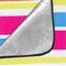 Фото 7 Коврик для пикника и пляжа водонепроницаемый Spokey Rainbow 180x210 см, в полоску
