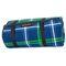 Коврик для пикника и пляжа водонепроницаемый Spokey Tartana 150х180 см, синий в клетку
