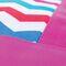 Фото 4 Пляжная термосумка Spokey Acapulco (920148), белая с розовым, принт зигзаг